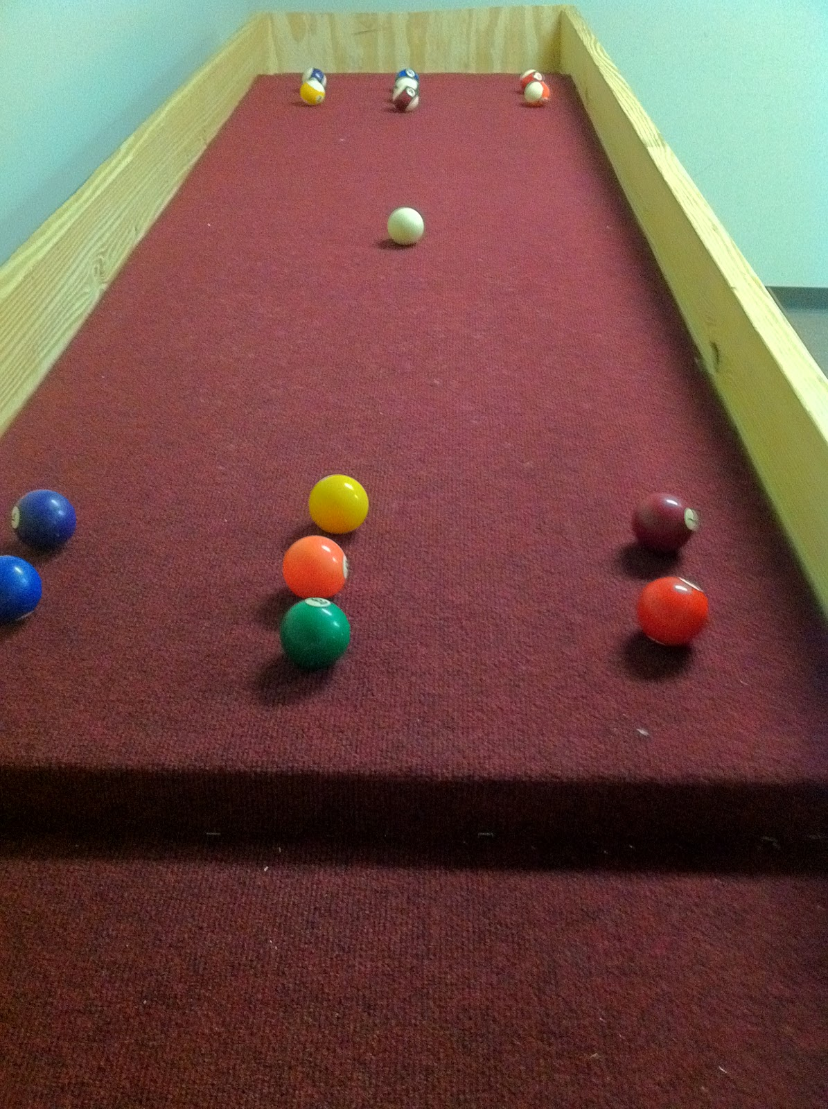 Youth Story: How to Build a Carpetball Table Part 2 ...