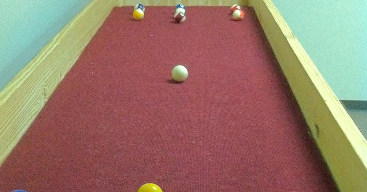 I Love Games Carpet Ball