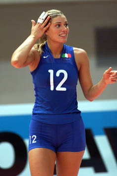 Volleyball player francesca piccinini consider