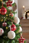 ΚΛΑΣΣΙΚΕΣ χριστουγεννιάτικες διακοσμήσεις