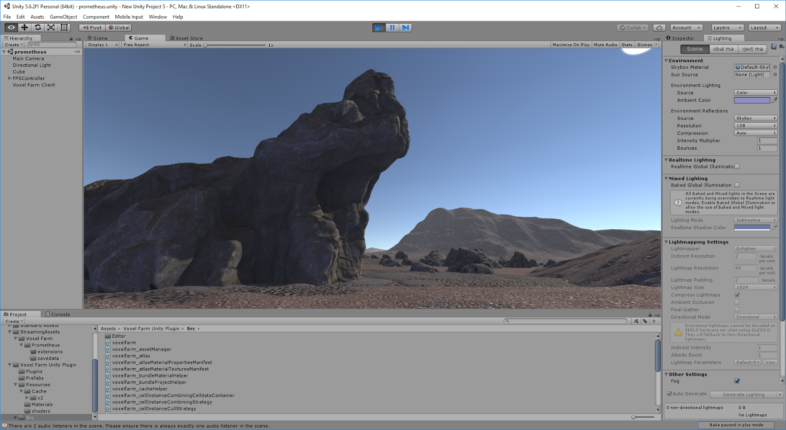 Procedural World: Unity versus Unreal