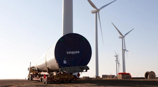 Wind Energy In Mexico Vestas Wind Turbines For A Wind Farm Reve