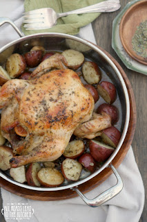 Herbes de Provence Roasted Chicken and Potatoes