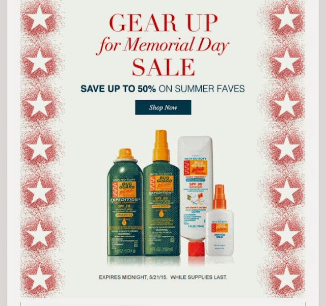 Avon Memorial Day Sales