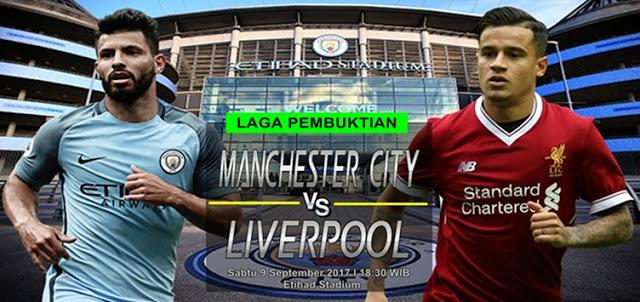 Manchester City vs Liverpool 9 September 2017