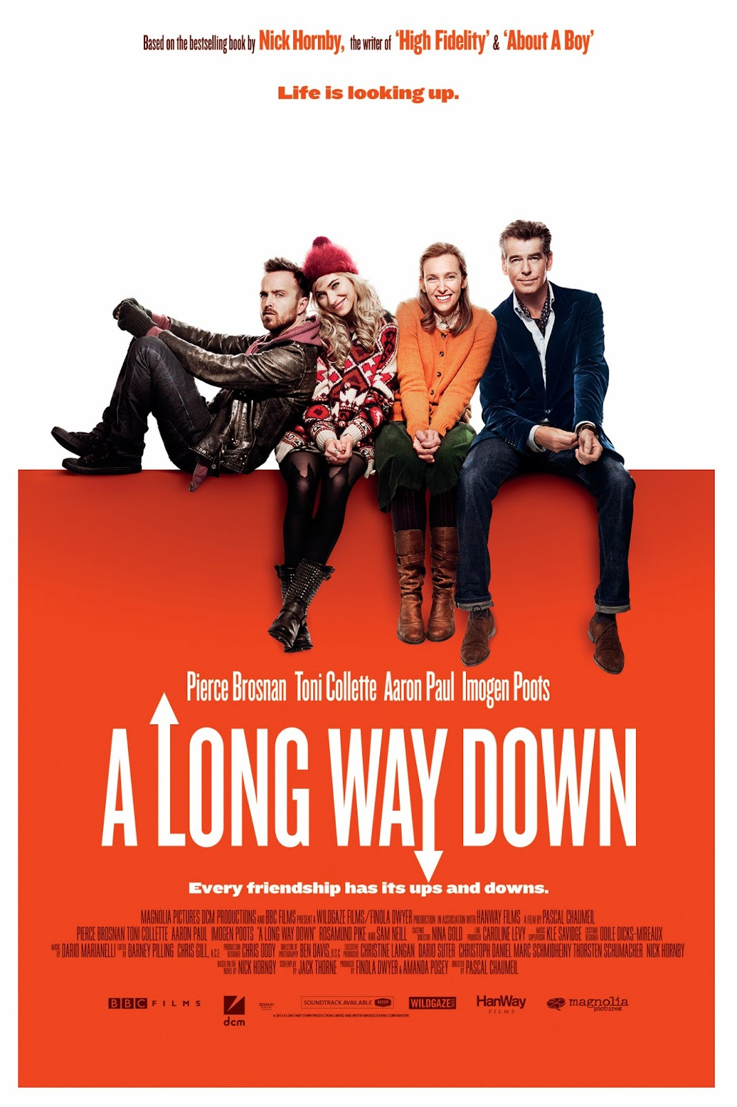 'A Long Way Down': official poster released