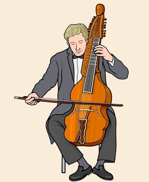 ビオラ・ディ・ボルドーネ /バリトン (Viola di bordone / Baryton)