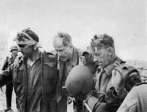 WW2 Wounded Canadians captured during  Dieppe Raid August 1942