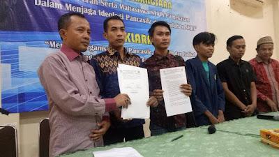STAIN Pamekasan Deklarasi Menolak Organisasi Anti Pancasila & NKRI.
