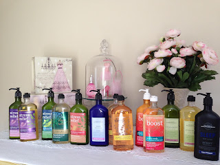 One Day Only Blog Sale!  Aromatherapy Lotion and Shower Gels $5.00 each
