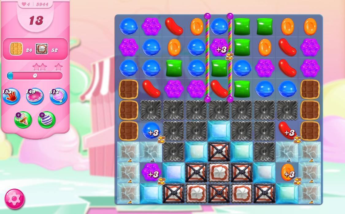 Candy Crush Saga level 5944