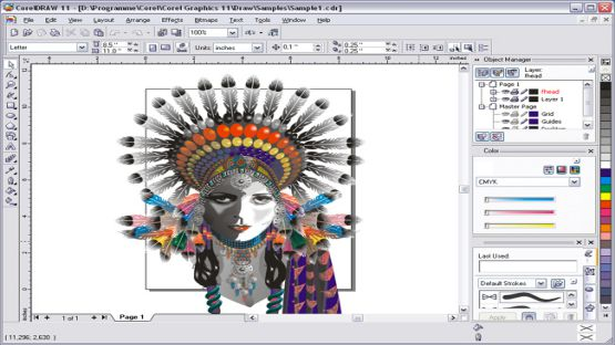 CorelDraw Graphics Suite X8 Screenshot 3