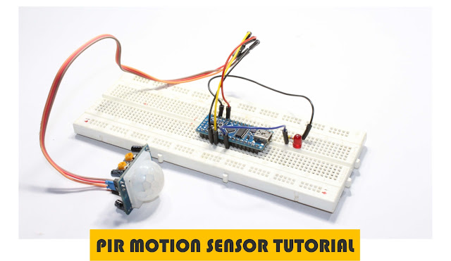 Arduino PIR motion sensor tutorial