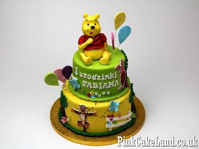Winnie the Pooh Birthday Cake, London