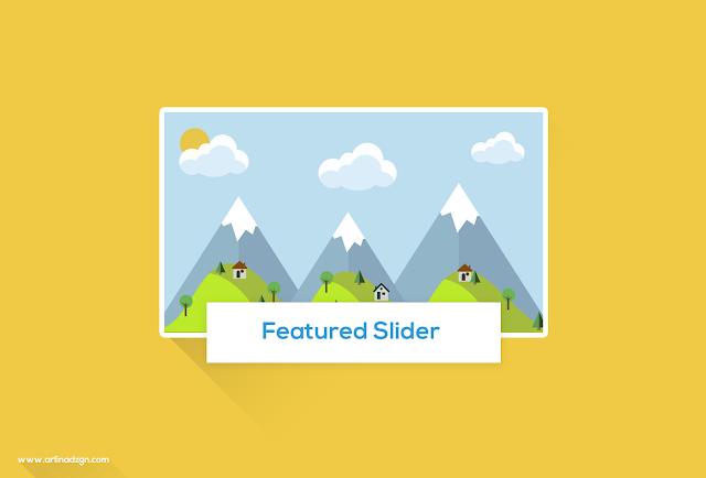 Cara Memasang Featured Slider Keren di Blogger