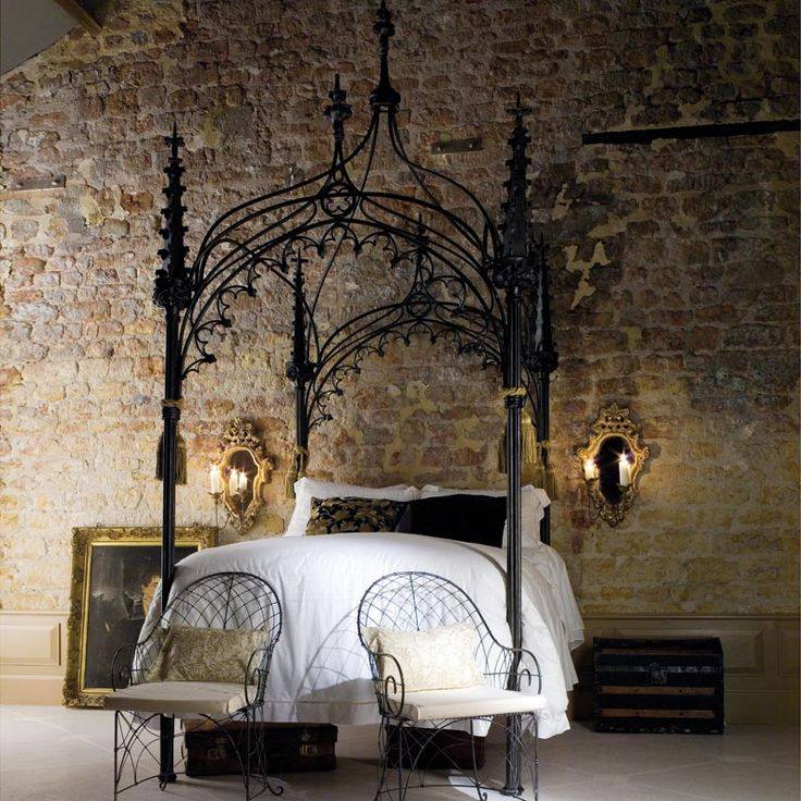 35 luxury bedrooms flaunting decorative canopy beds - Canopy bed decorating ideas ...