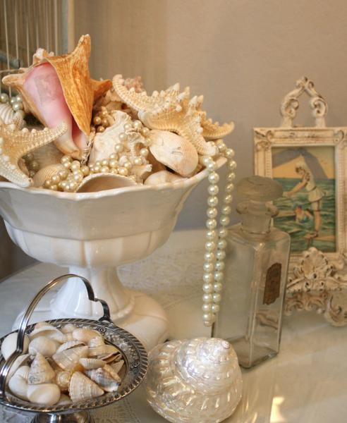 Mod Vintage Life Decorating With Shells