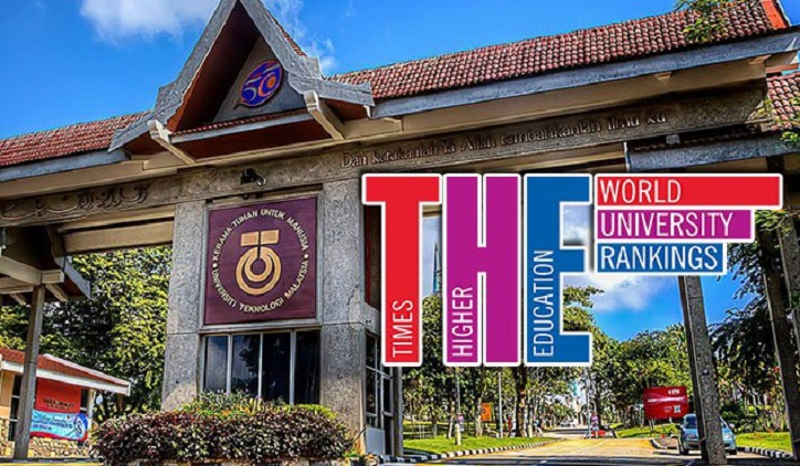 UTM Tersenarai Dalam 100 Universiti Terbaik Asia 2016