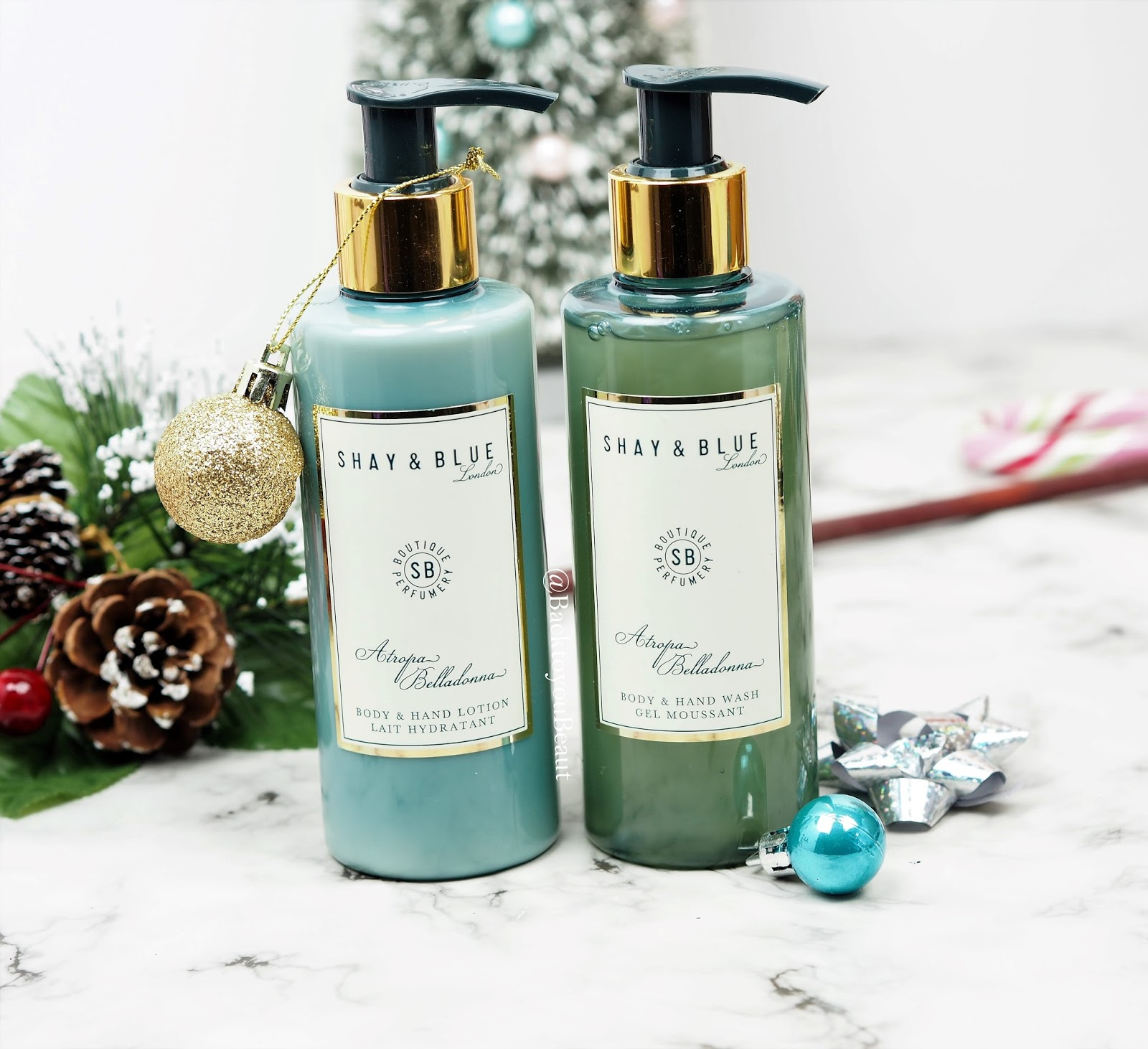 Shay & Blue Atropa Belladonna Handwash and Handlotion duo
