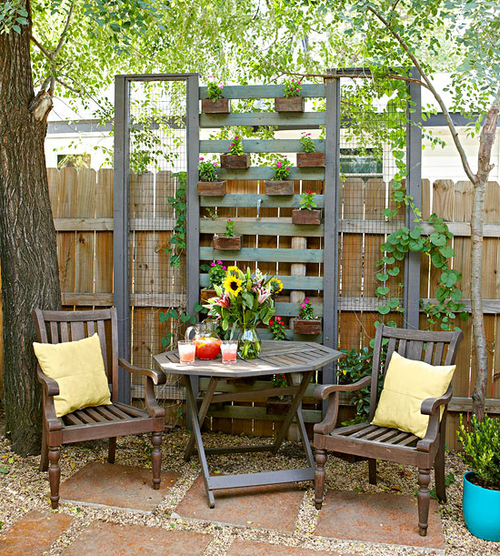 Pallet Garden Privacy Fence Ideas