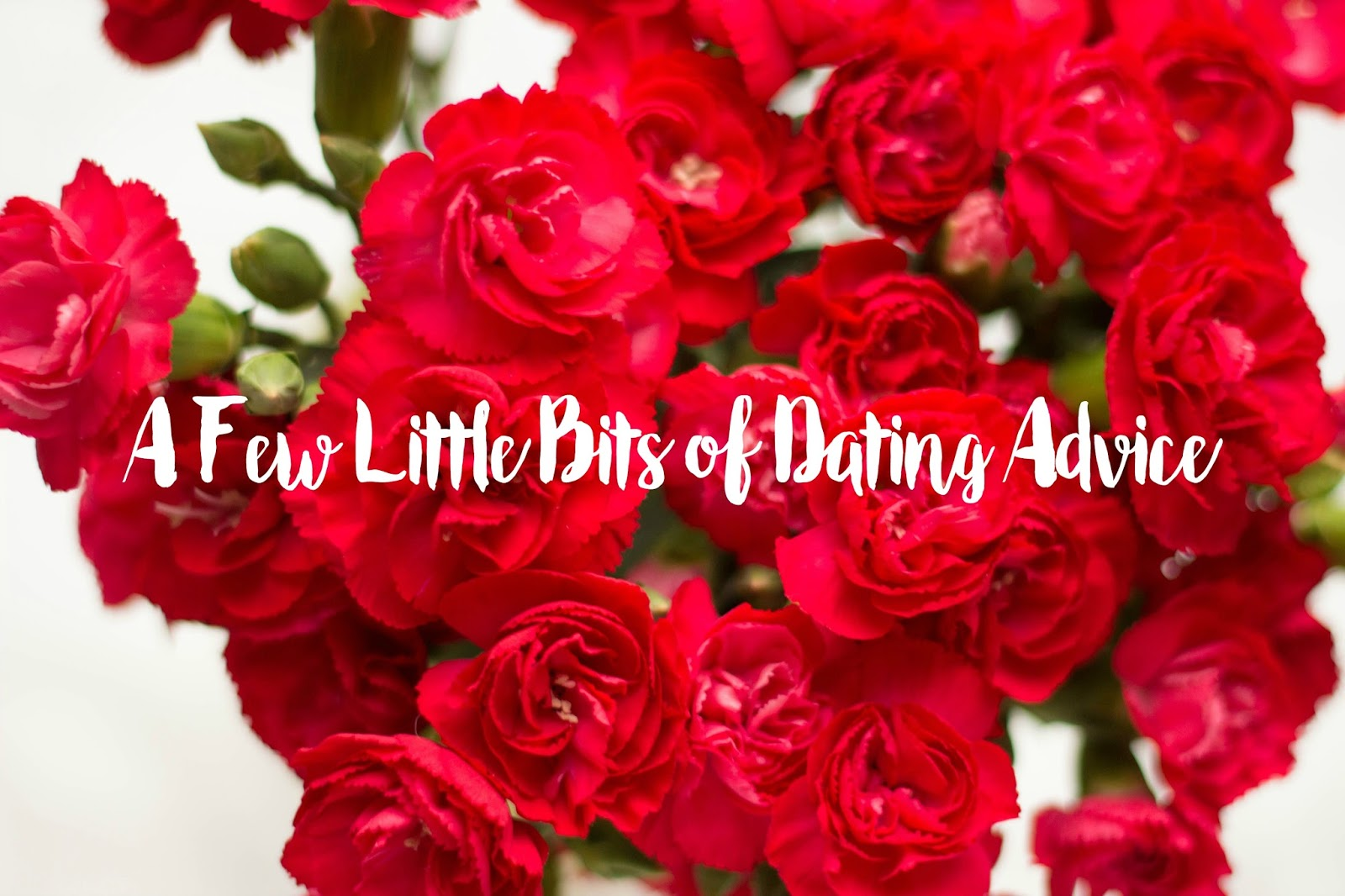 Dating Disasters, Dating Advice, How to act on a date, How not to act on a date, flowers, carnations, Katie Writes, Dating Blogs, Love Bloggers,