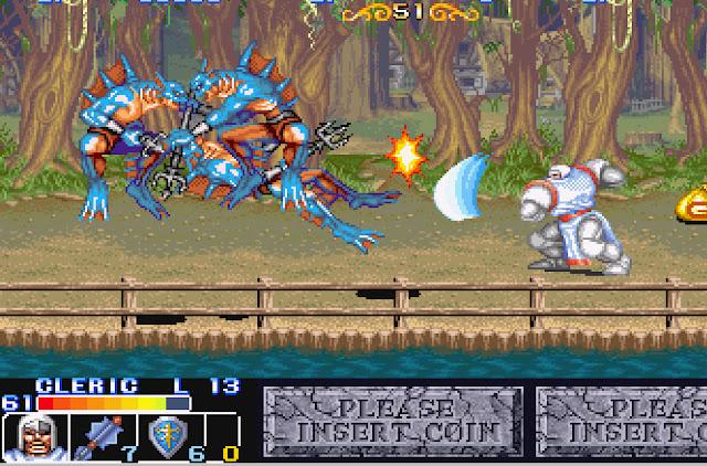 The King of Dragons - Stage 14 Merfolk Screenshot