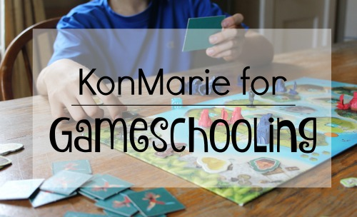 KonMarie for Gameschooling in the homeschool day