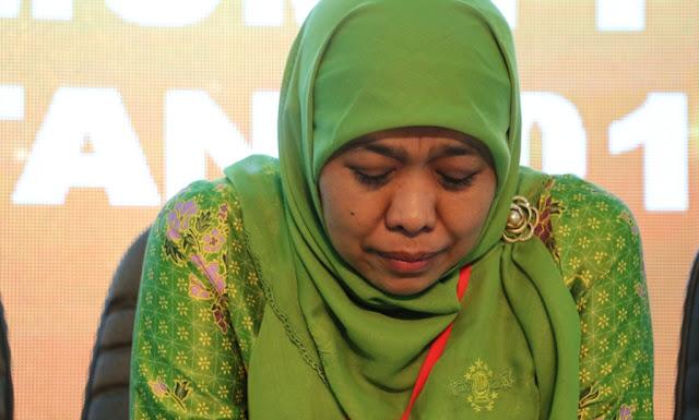 Khofifah Mundur dari Tim Kampanye Daerah Jokowi-Ma'ruf