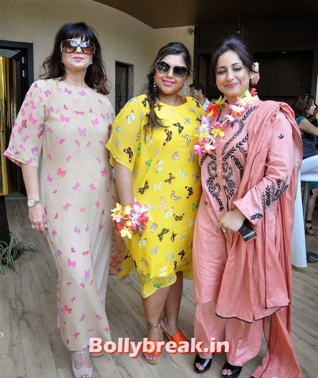 Neeta Lulla, Sheetal  Nahal and Divya Dutta, Bollywood Page 3 Celebs at Sheetal Nahar Brunch Party