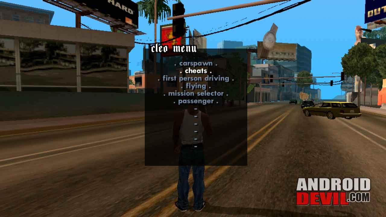 GTA San Andreas Mod Cheat by Cleo Tanpa Root Mantap