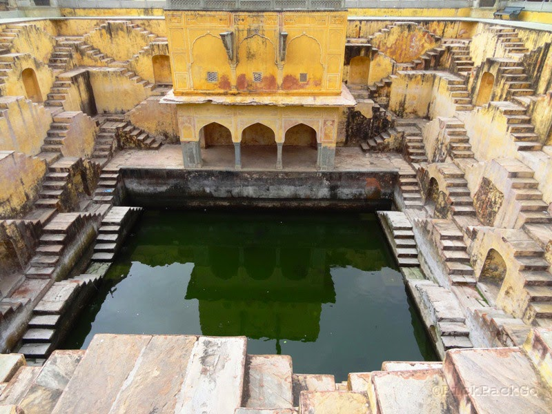 Pan Mina Ki Kunt - Step Well - Jaipur, Rajasthan