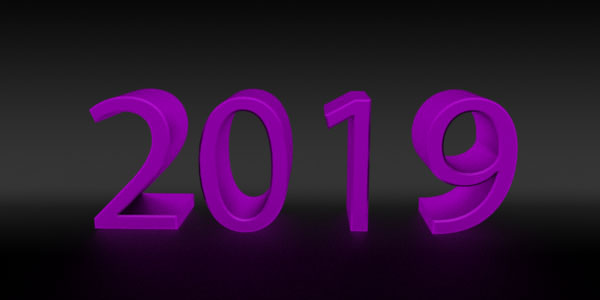 2019 new year 3d png images