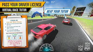 Driving School Test Car Racing Mod APK Unlocked all car