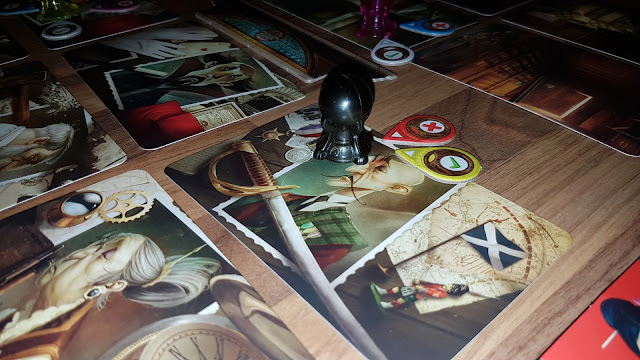 Mysterium Review suspect cards