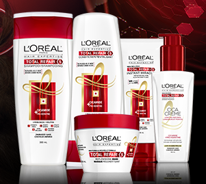 L'Oréal Hair Expertise Total Repair 5 - for hair that is repaired as if new!