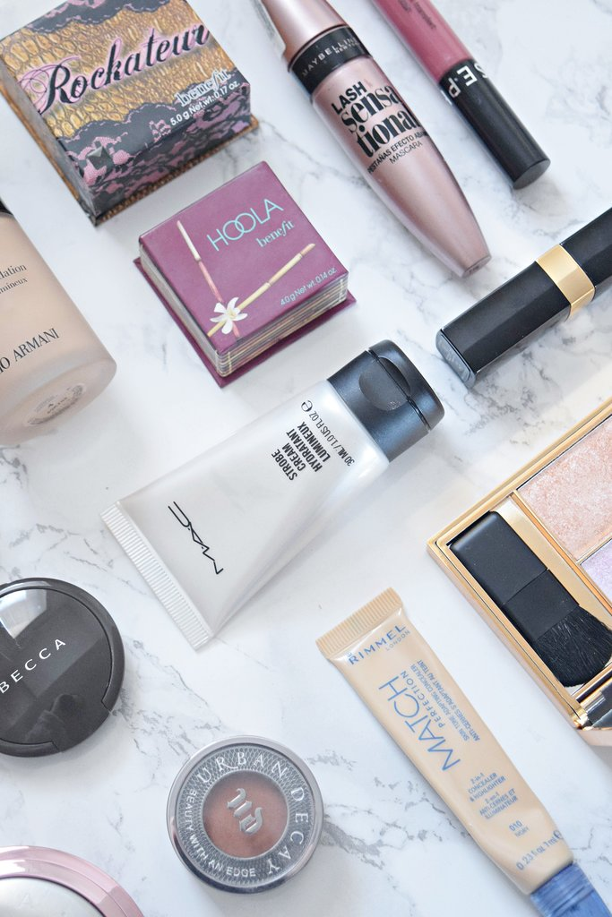 2016 makeup favourites, becca, benefit, sephora, dior, sleek, highlighters