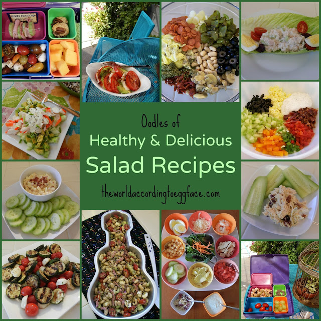 Oodles%2Bof%2BHealthy%2Band%2BDelicious%2BSalad%2BRecipes%2BEggface%2BPin Weight Loss Recipes May is National Salad Month