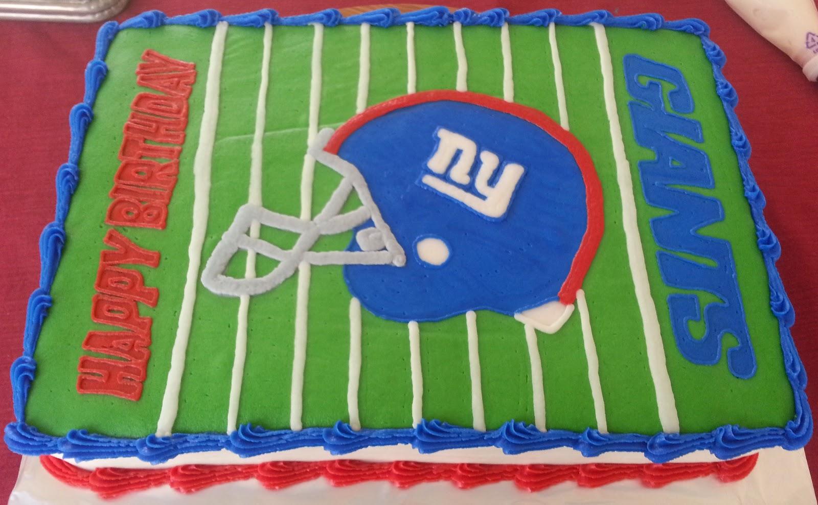 Ny Giants Happy Birthday Cake Cake Recipe