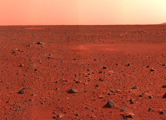 por que Marte é vermelho ferrugem