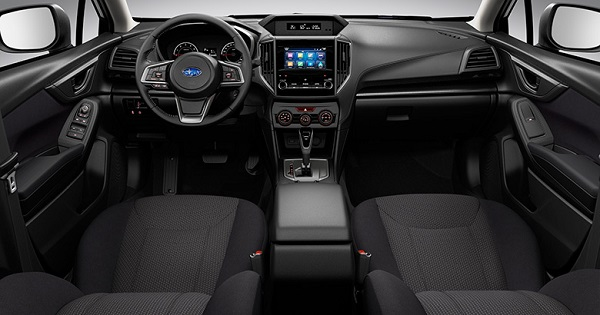 Interior Subaru Impreza 2018