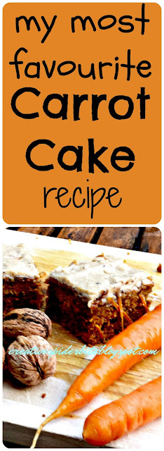 my most favourite carrot cake recipe