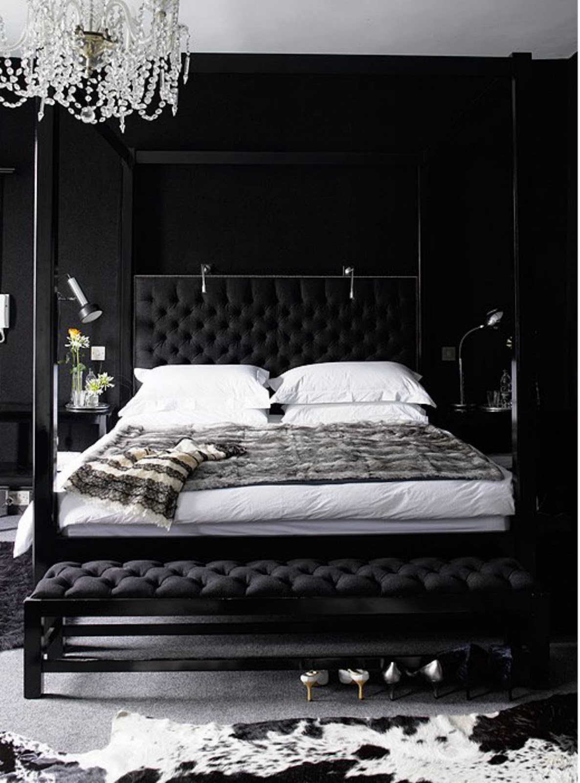 navy black bedroom walls interior design decorating tips dark rooms modern traditional transitional