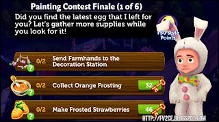 fv2ce, orange frosting, carrot cake, rabbit costume for male