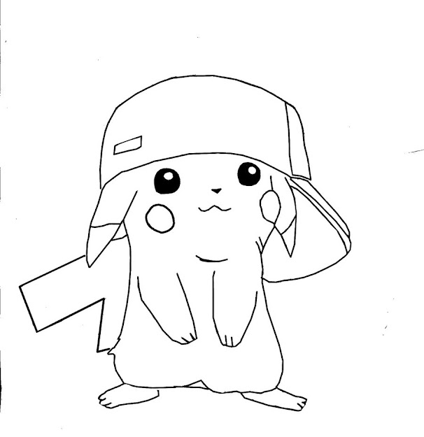 Pikachu Coloring Pages Images