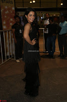 Wamiqa Gabbi in a sleeveless Black Designer Transparent Gown at 64th Jio Filmfare Awards South ~  Exclusive 095.JPG