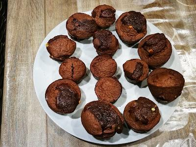 Muffins 3 chocolats