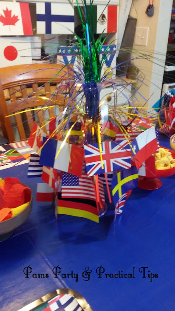 Olympics, International Games, Centerpieces