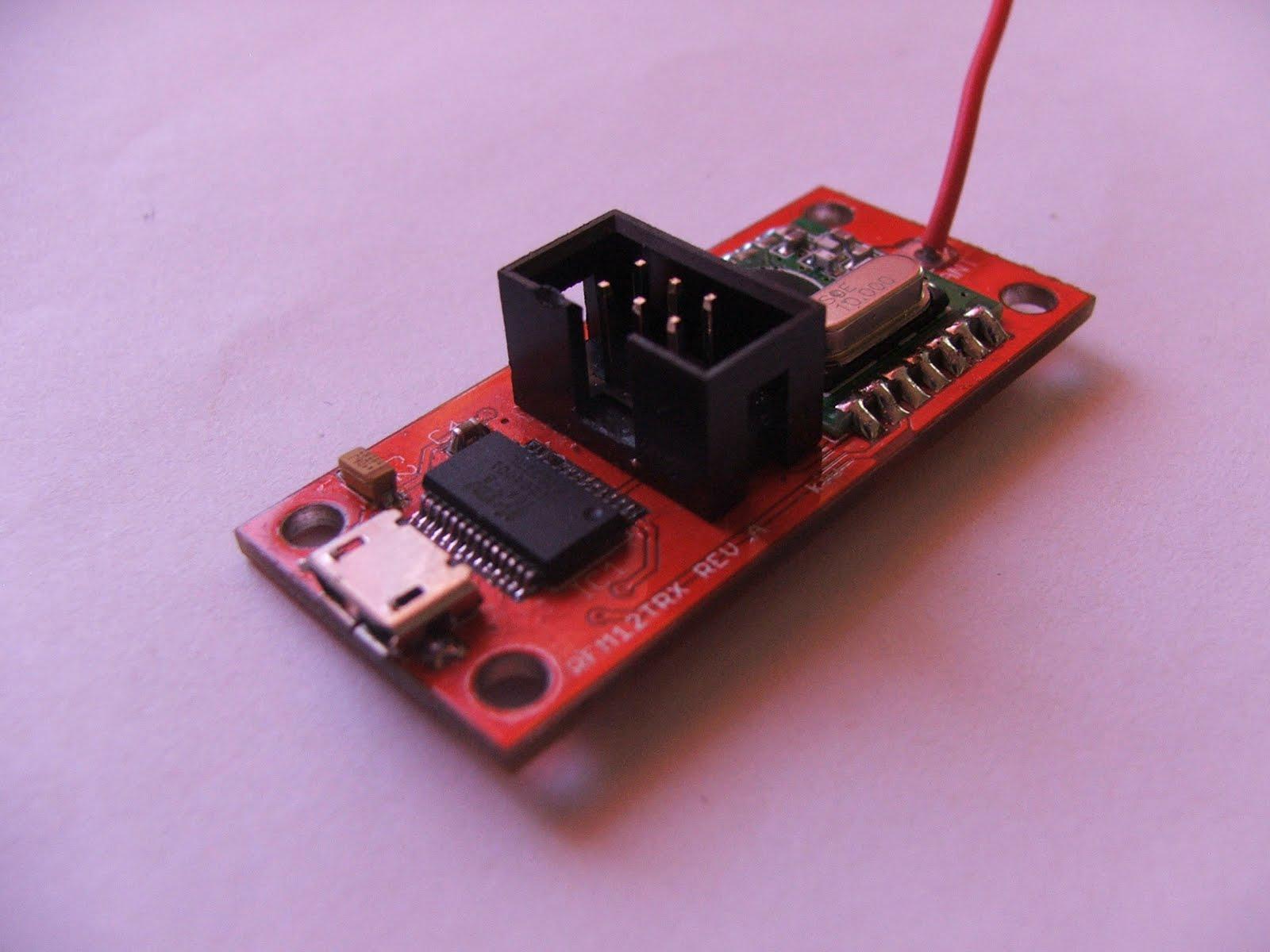 DonsDeals Blog: A simple RFM12 433Mhz Wireless Transceiver
