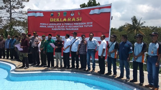 Deklarasi Pileg Dan Pilpres 2019 Di Kecamatan Tutur