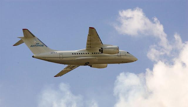 Ан-148 разбился после вылета из Домодедово